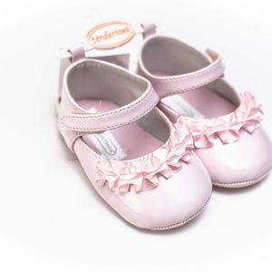 Baby Girl Dress Shoes Infant Size 2 = 3-6m